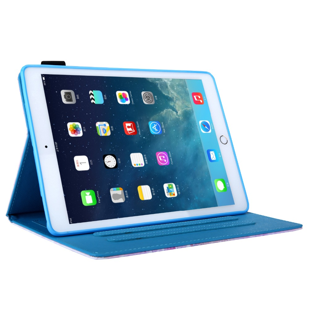 Smart-Cover for New iPad 7th-Generation 10.2 Tablet PU Funda Case Magnetic-Stand