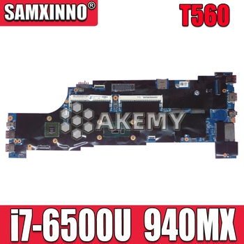 T560 Motherboard For Lenovo T560 W560S P51S P50S Laotop Mainboard with i7-6500U CPU 940MX GPU