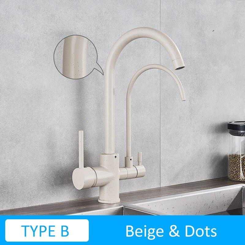 TYPE B-Biege Dot
