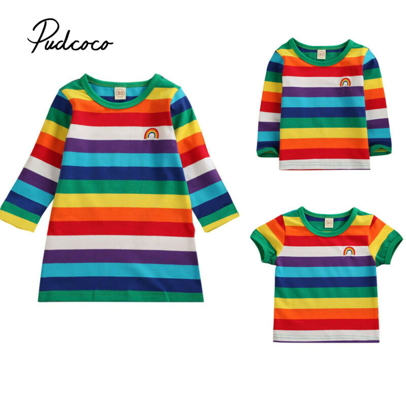 Fashion Female Fit Soft Touch Cotton Kids Girls Childs Tee T-Shirt Tshirt