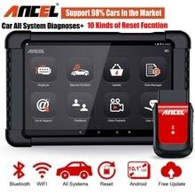 אנצ ל X6 OBD2 אוטומטי אבחון סורק כלי Bluetooth & WiFi מקצועי OBD 2 רכב סורק SRS DPF מפתח תכנות כלי