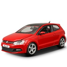 Bburago 1:24 Scale VW Polo GTI Mark 5 alloy racing car Alloy Luxury Vehicle Diecast Cars Model Toy Collection Gift