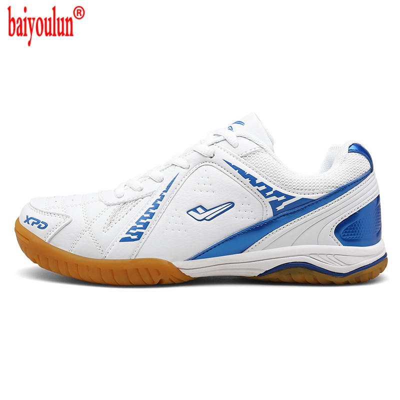 2021 Unisex Professional Table Tennis Shoes Rubber Bottom Pingpong Sports Trainers Anti-Slippery Breathable sports Shoes