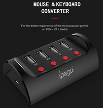 PG-9133 Mouse Keyboard Converter untuk Switch PS4 untuk Xbox One X1 PC Game Controller Konsol Gamepad Converter(China)