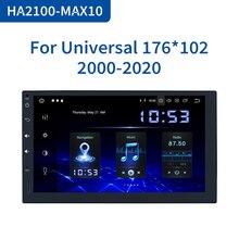 "Dasaita 7"" Radio Car 2din DSP android 10.0 Universal Car Multimedia Player 4GB RAM 64GB ROM Stereo Multi Touch Screen Bluethooth"