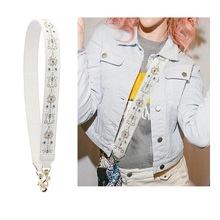 Luksusowy pasek pasek torba listonoszka na ramię pasek prawdziwej skóry kobiet torebka z paskiem na torby marki hafty akcesoria z paskami tanie tanio SEELASS Skóra Pasek torby 200g bag Straps Belt bag Accessories parts