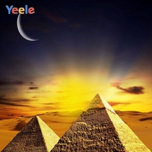 Yeele Egyptian Pyramids Natural Scenery Photography Backgrounds Custom Photocall Photographic Backdrop For Photo Studio Props pyramids