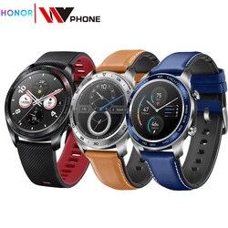 Huawei часы magic Honor часы Magic SmartWatch сердечного ритма водонепроницаемый трекер сна трекер работы NFC GPS