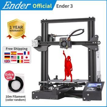 Ender-3 3D printer DIY Kit Large print Size mini Ender 3/Ender-3X printer 3D Creality 3D printer Continuation Print Power