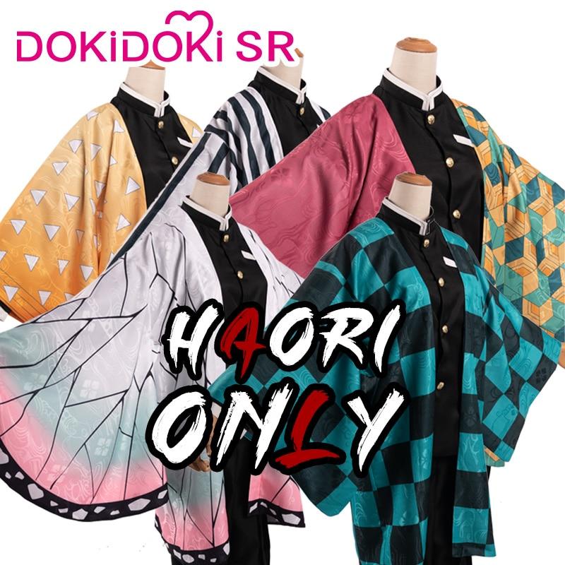 DokiDoki-SR Demon Slayer: Kimetsu No Yaiba Cosplay Kamado Tanjirou/Agatsuma Zenitsu/Tomioka Giyuu/Kochou Shinobu/Iguro Obana