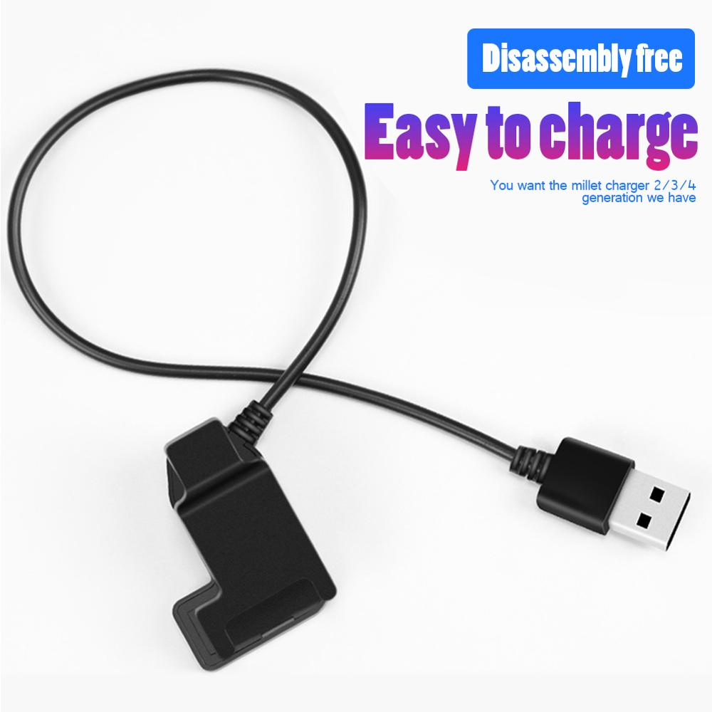 Charger-Adapter Cord Mi-Band Xiaomi Cable 3/4-Wristband-Accessories USB for Back-Clip