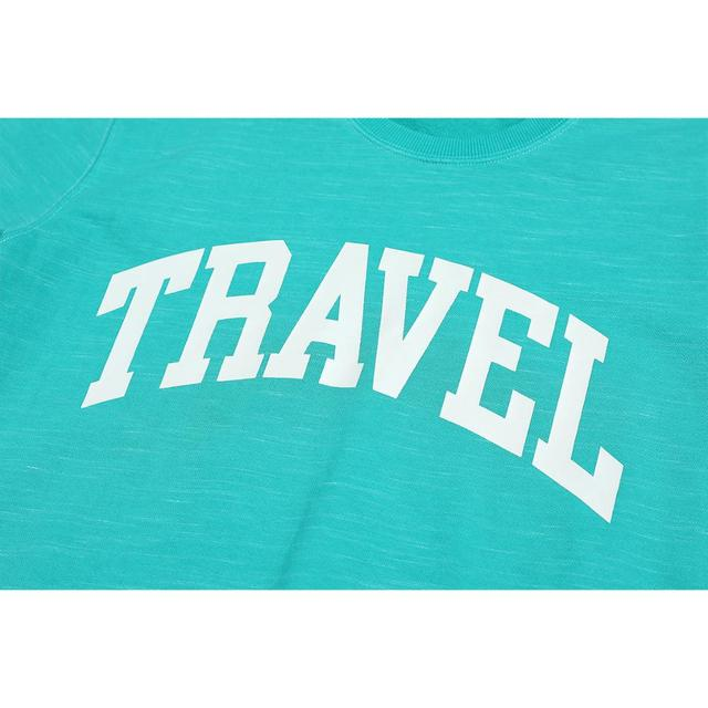 Spring Sweatshirts with front travel print