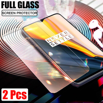 2Pcs Screen Protector For OnePlus 7 7T 6T 6 Tempered Glass For Oneplus 6 7T Explosion