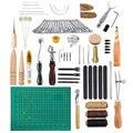 Набор инструментов для кожевенного ремесла, набор инструментов для шитья, работа, шитье, седло, кожа, ремесло, набор инструментов, инструмен...