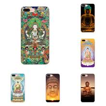 Soft TPU Screen Protector Buddha God For Sony Xperia Z Z1 Z2 Z3 Z4 Z5 compact Mini M2 M4 M5 T3 E3 E5 XA XA1 XZ Premium(China)