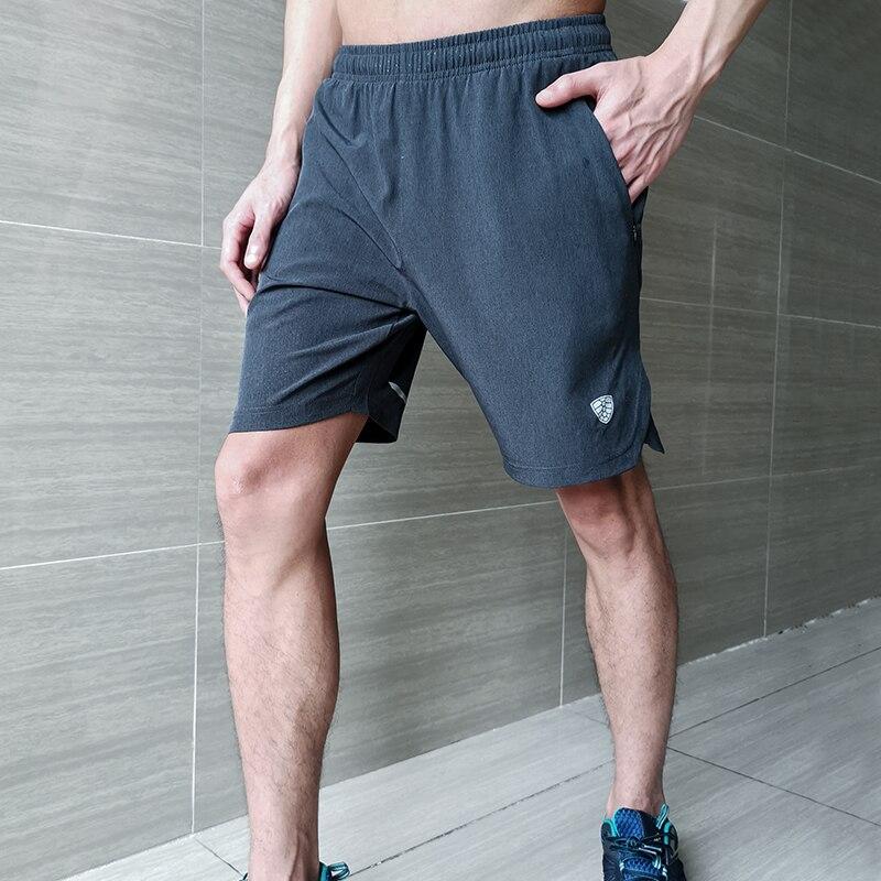 FANNAI Sport Shorts Men Running CrossFit Sports Jogging Walking Training Gym Short Pants Quick Drying Zipper Pockets Drawstring