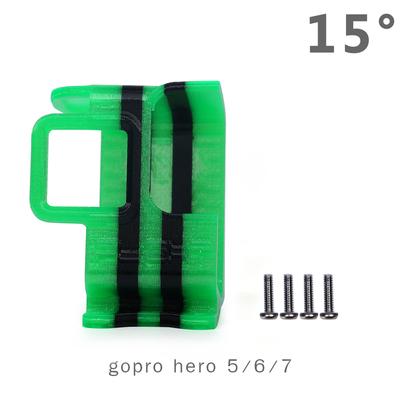 IFlight Green Hornet 3D Printed TPU Holder Protection Cover Mount For GoPro Hero5 6 7 8 Camera RC FPV Racing Drone