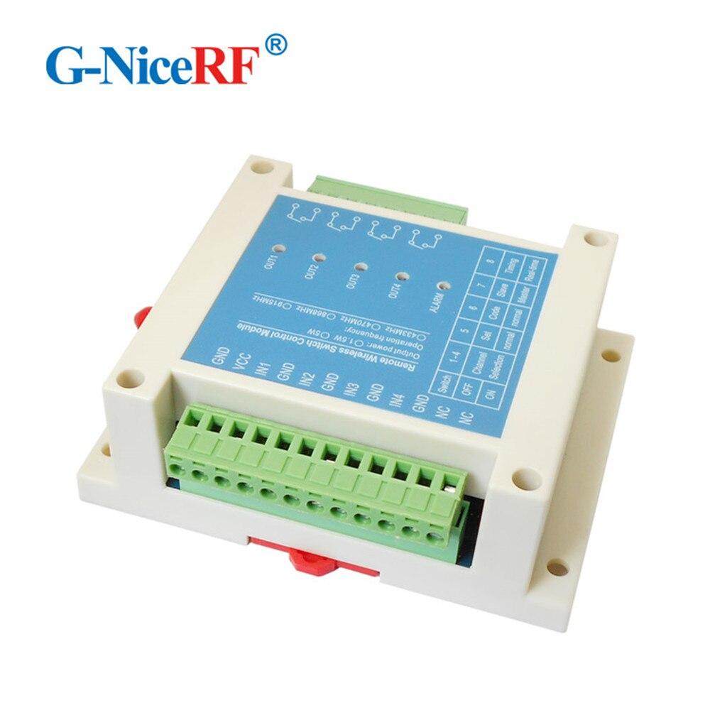 SK109 1.5W 433MHz 4km Bi-Directional 4 channels Remote Switch Control RF Module