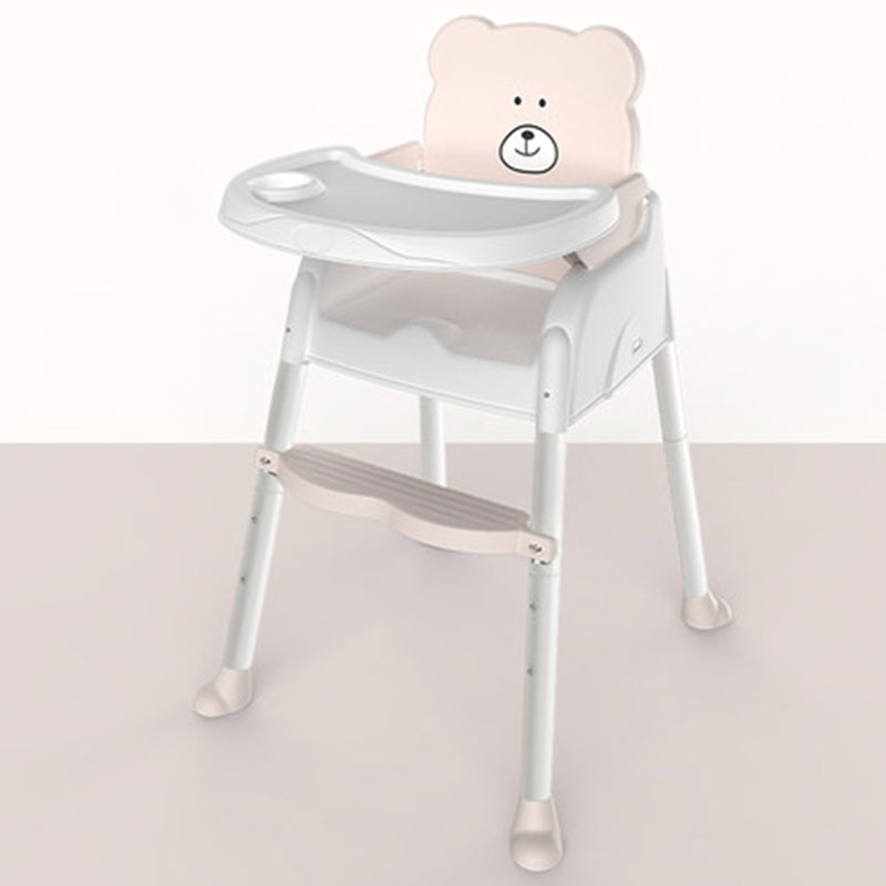 Baby Dining Chair Portable 0-7 Years Old Children's Multi-Function Table Can Be Adjusted Two Materials