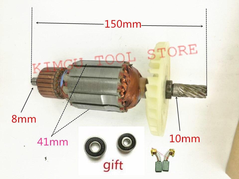 Rotor para Hitachi Dentes Armação C7mfa C7ss 8 Ac220-240v 360694e C210372e