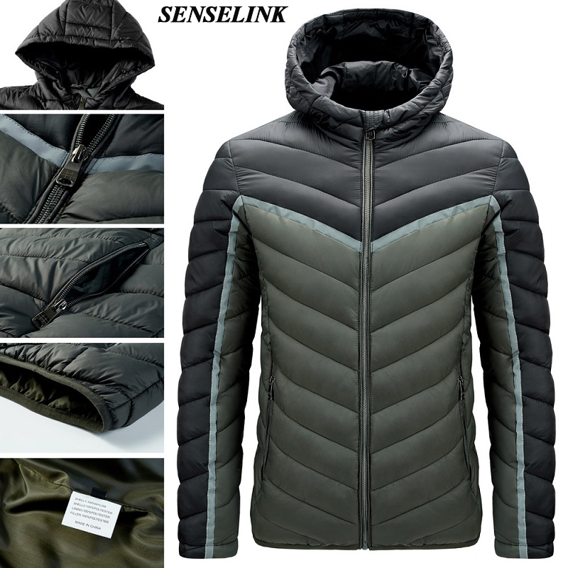 High Quality Winter Warm Windproof Jacket Men 2021 Winter New Casual Hooded Parka Men Fashion Thick Slim Jacket Jacket Men