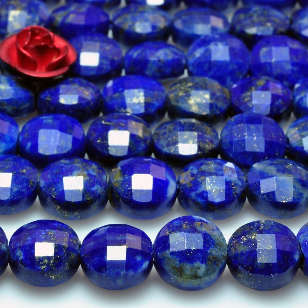 "Al por mayor Natural Azul Lapislázuli Piedra Preciosa Heishi 4mm granos 15/"" Strand"