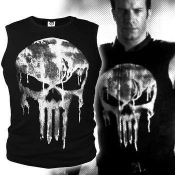 2020 Skeleton head short sleeve Compression shirt T male 3 D T-shirt for punishing body builder long sleeved