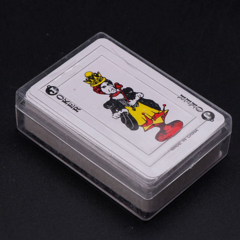 2020 New Texas Hold'em Mini Poker Home Decoration Travel Portable Playing Card Board Game