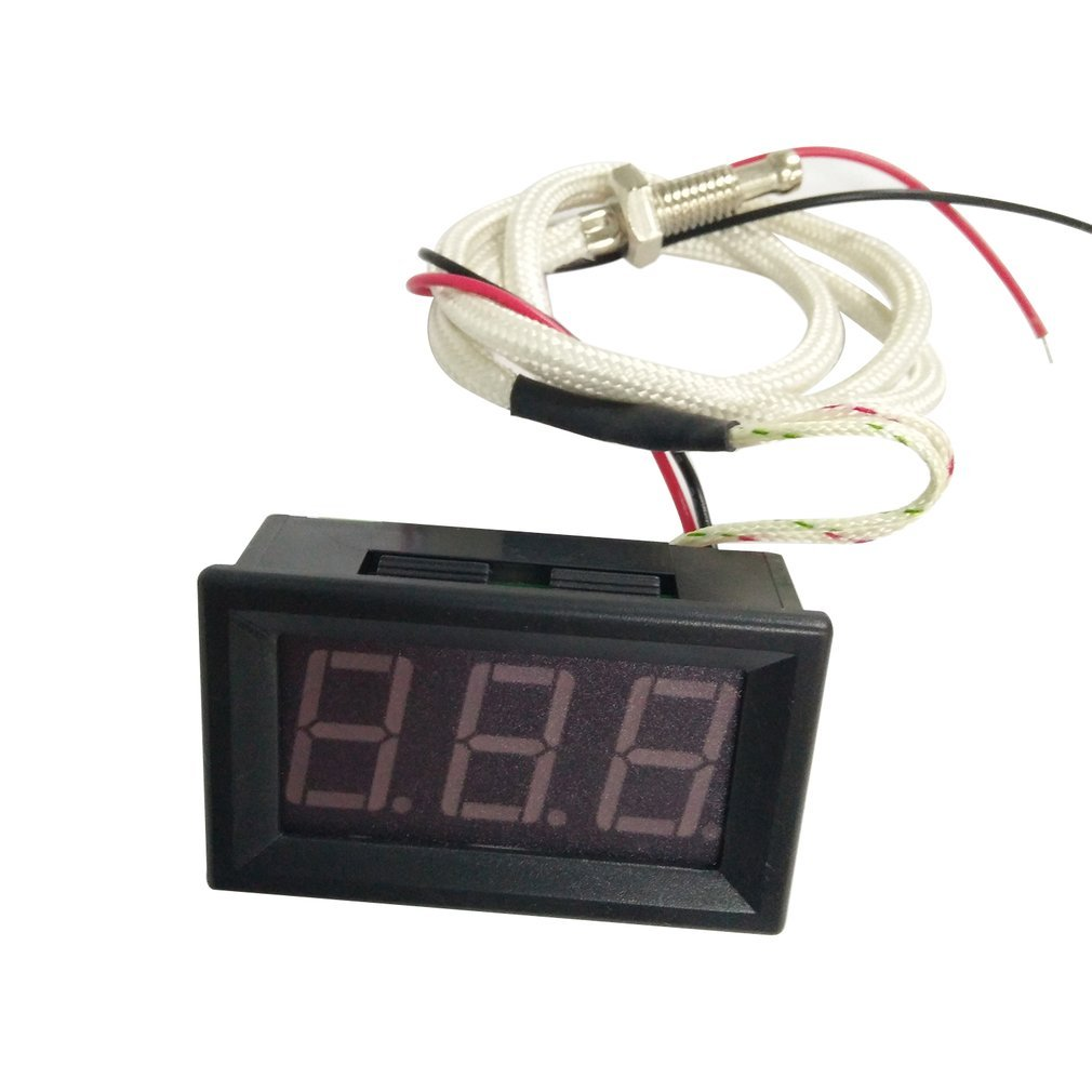Mini Portable Thermocouple Meter LED Display Industrial Digital Thermometer -30 ~ 800 Degree K-Type Industrial Gauge XH-B310