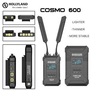 Image 1 - Беспроводной передатчик HOLLYLAND COSMO 600, профессиональный HD видеопередатчик с отверстием для винтов 1/4  20, 3G, SDI, HDMI, 600FT