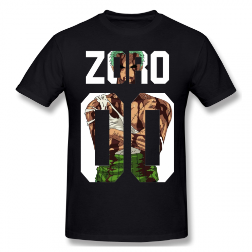Awesome Roronoa Zoro Man T Shirt New Streetwear Boy One piece T Shirt Plus Size For Men Wholesale in T Shirts from Men 39 s Clothing