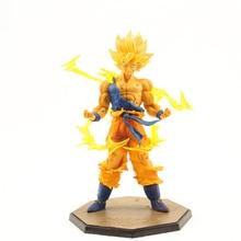15cm japanese anime FZERO Dragon Ball PVC Action Figure Toys Dragon Ball Z Super Saiyan Goku Cake Decoration Model toys kid gift