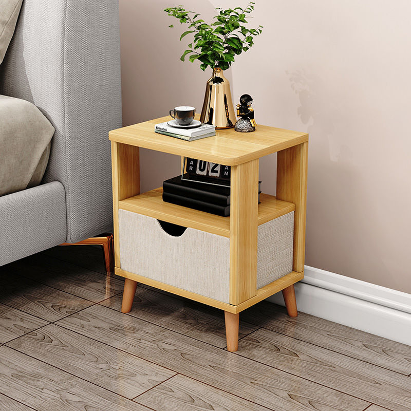 Furniture Chest Organizer Nordic Easy Living Room Bedroom Display Storage Cabinet Bedside Tables Modern Assembled Small Cabinet