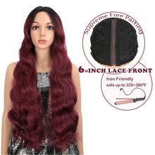 Длинный волнистый парик magic 28 дюймов 6 цветов для чернокожих