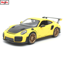 Maisto 1:24 Porsche 911GTR simulation alloy car model crafts decoration collection toy tools gift maisto 1 24 1969 shelby 427 simulation alloy car model crafts decoration collection toy tools gift
