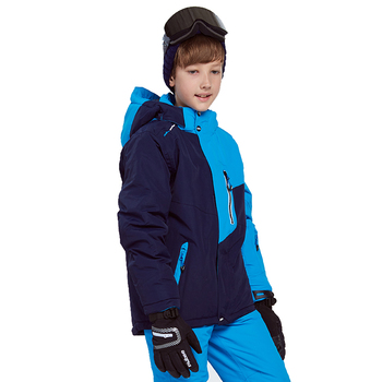 Kids Snow Suit Coats Boy Ski Suit Sets Waterproof Windproof Skiing Coat Pant Winter Thermal Snowboard Jacket Winter Boy Coat gsou snow brand ski jacket men snowboard jacket waterproof fur hooded outdoor skiing suit windproof sport clothing winter coat