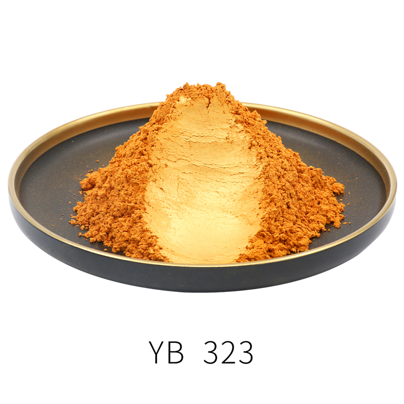 Mica Pearl Coating Powder Type 323 DIY Natural Mineral Pearlized Pigment Colorant 10/50g For Soap Eye Shadow Cars Craft