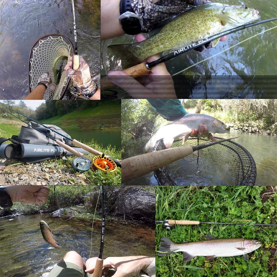 MaximumCatch® Fly Fishing Rod Super Light 2//3WT Airlite Fly Fishing Rod Graphite