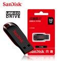 100% Оригинальный Sandisk Pen Drive CZ50 USB флэш-накопитель 128 ГБ 32 ГБ 64 ГБ высокоскоростной 16 ГБ 8 ГБ карта памяти USB мини U-диск USB 2,0