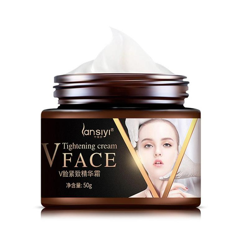 V-Shape Face Line Lift Firming Collagen Cream Double Chin Cheek Slimming New Face Lifting Cream Tightening Cream 50g
