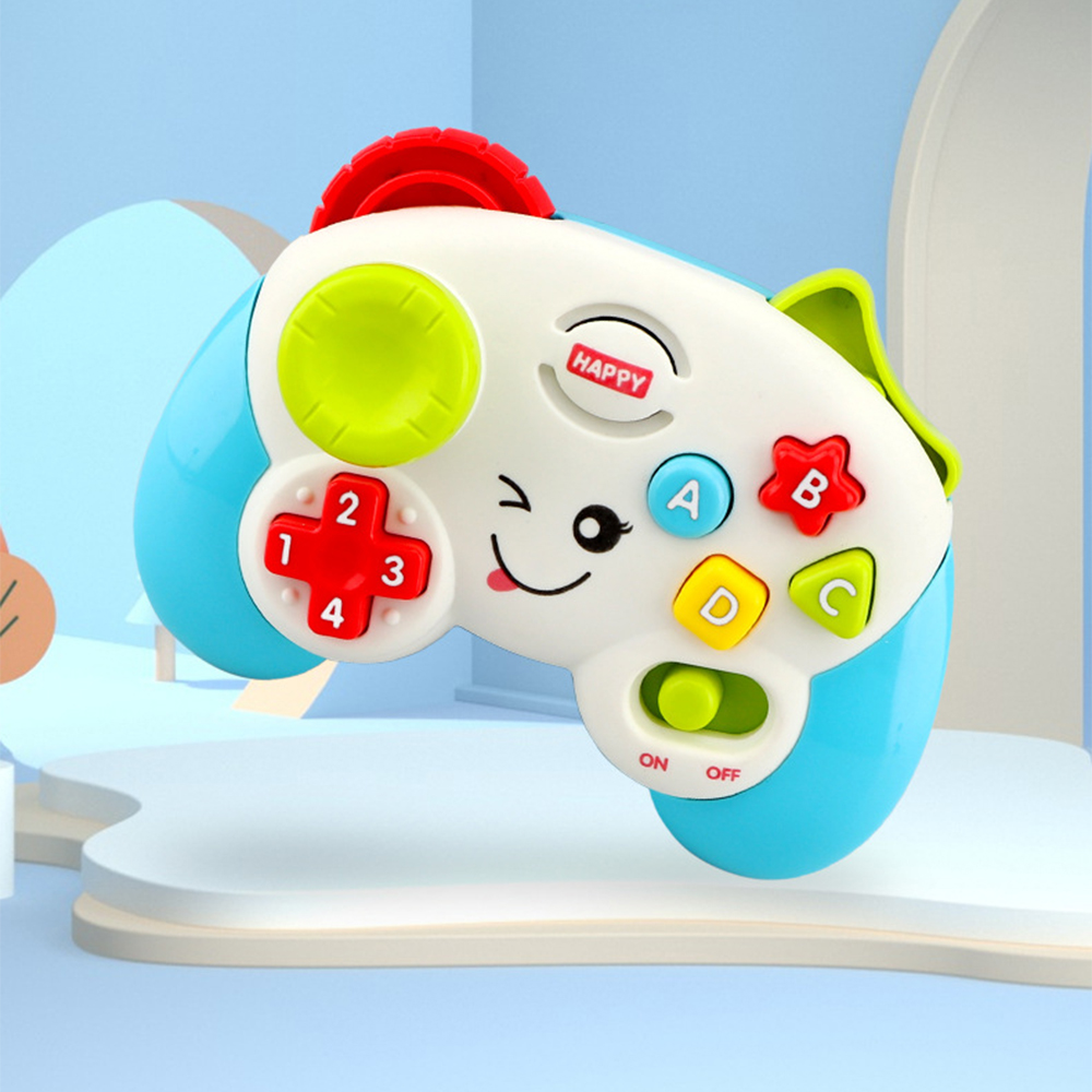 Funny Baby Game Controller Teaching Early Educational Learn Toy First Words Letters Numbers Colours Shapes With Songs Sounds New