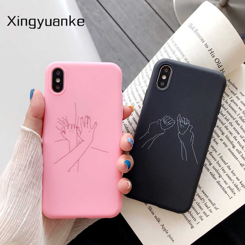 Koppels Abstract Case Voor Xiaomi Redmi Note 9S 10X 4 4X 5 6 7 8 8T 9 Pro max 3S 4A 6A S2 Plus 7A 8A Cartoon Soft Silicone Cover