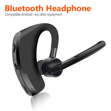 Wireless Bluetooth Headset Bluetooth Earphone with Mic Handsfree for Driving Car
