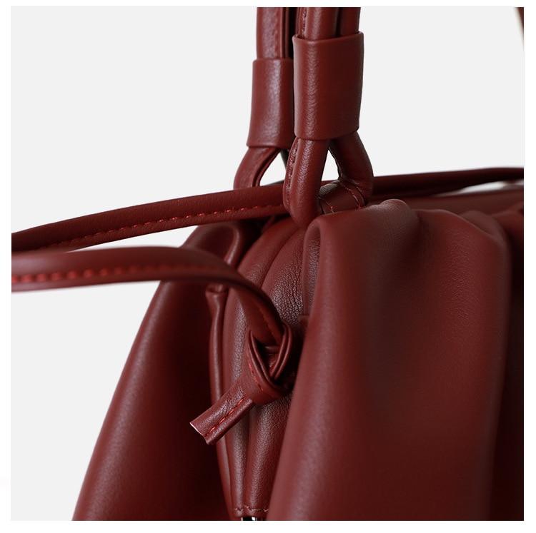 de embreagem bolsas plissado bolinho ombro mensageiro saco