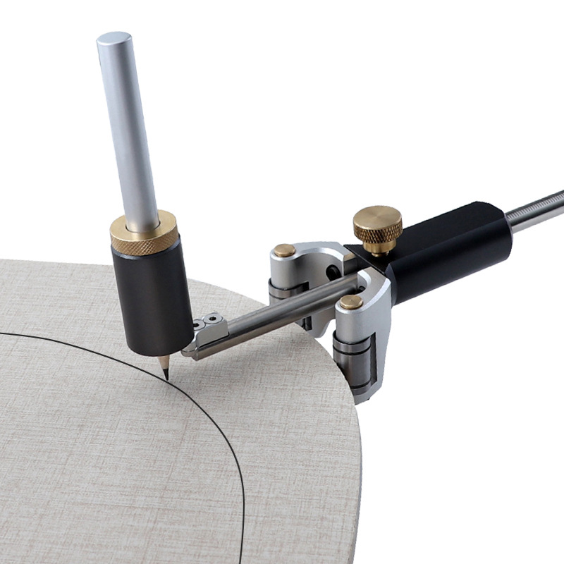 Wood Scribe Tool Wheel Marking Gauge Woodworking Tool Set 0-120mm Hand-held Multi-function Liner Woodworking Tool Dropshipping