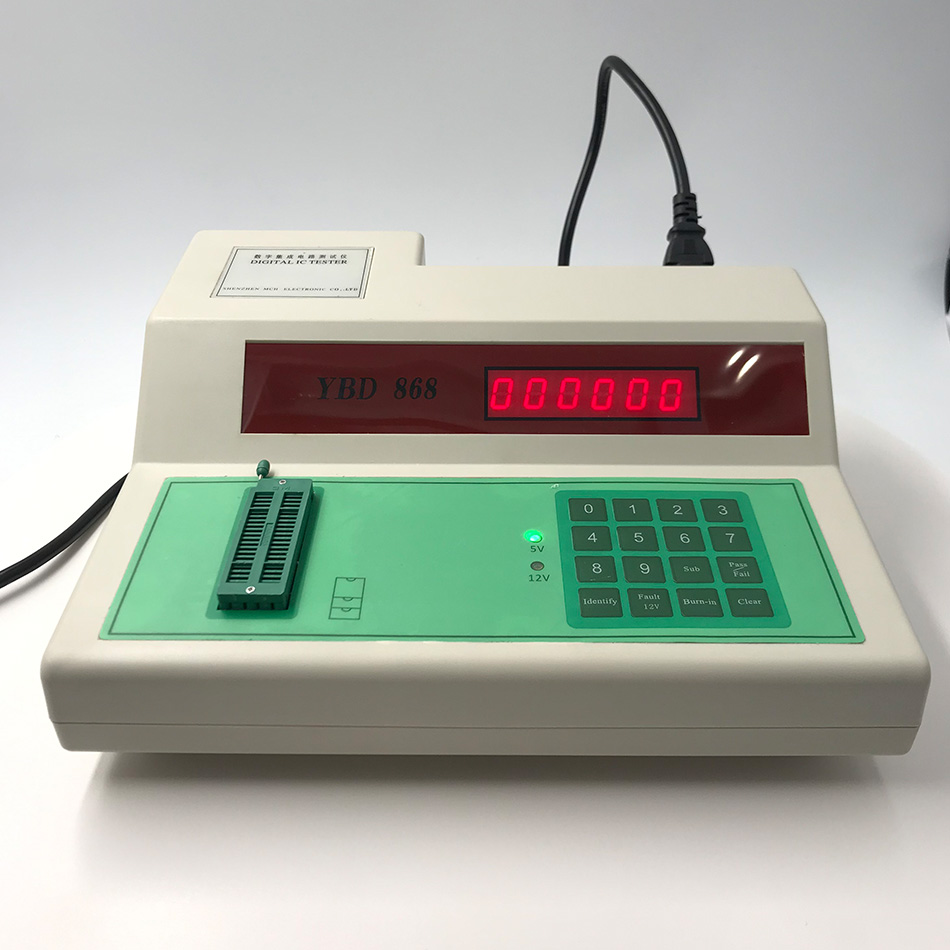 Digital IC Tester Digital Integrated Circuit Measuring-testing Instrument YBD-868 Y