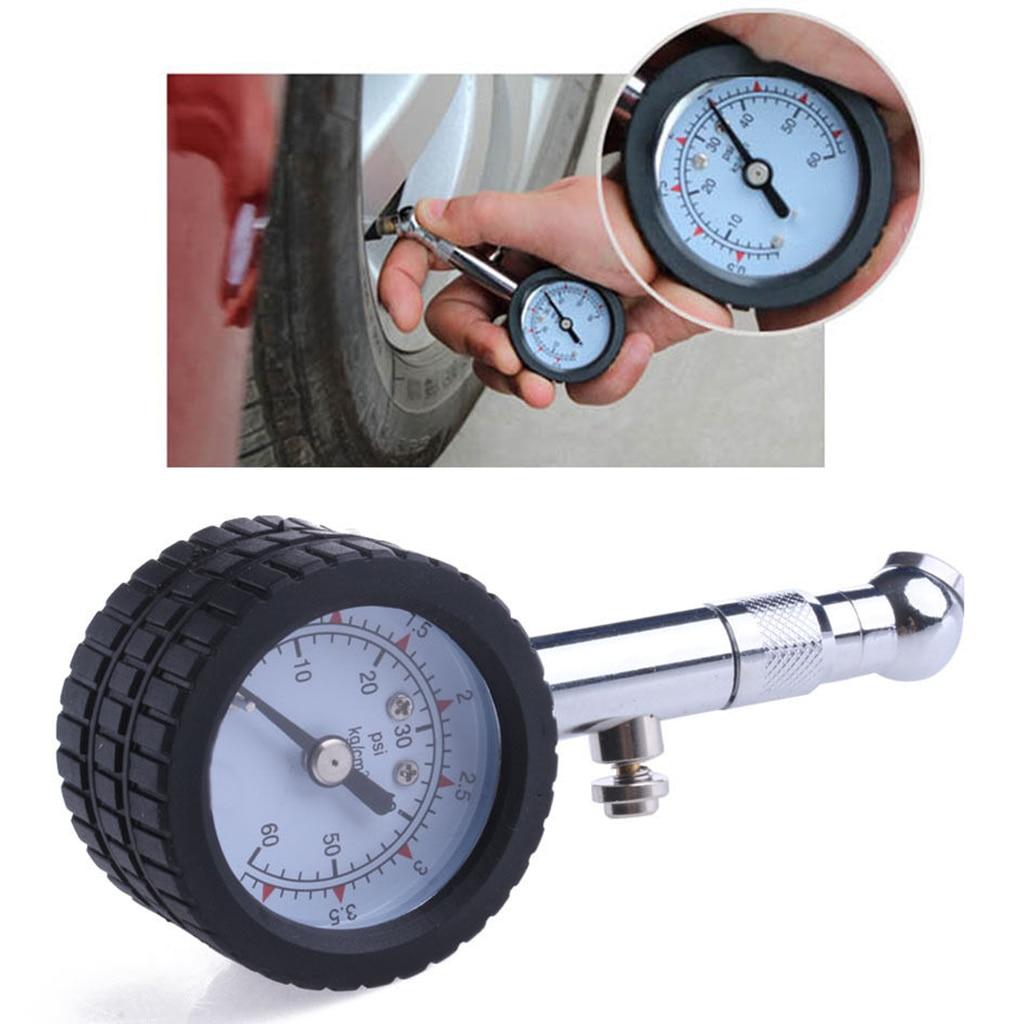New Car Vehicle Automobile Tire Air Pressure Gauge 0-60 Psi Dial Meter