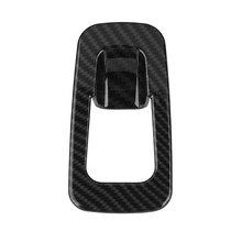 Carbon Fiber Handbrake Cover Trim Self Adhesive Cover Fit For Mercedes Benz E Class W213 2016-2018/GLC Class X253 2016-2018 lapetus car steering wheel cover trim matte carbon fiber style for mercedes benz e class w213 c class glc 2016 2019