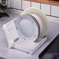 折りたたみ皿ラックキッチンプレートスタンド食器カップ収納ラック水切りキッチンアクセサリー -