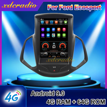 Xdcradio 10.4 Android 9.0 For Ford Ecosport Car Radio Automotivo Car DVD Multimedia Player Auto GPS Navigation Stereo 2013-2019 image